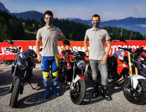 """Samuele e Luca partecipano al """"Tester day summer"""" organizzato dalla rivista """"Motociclismo"""""""